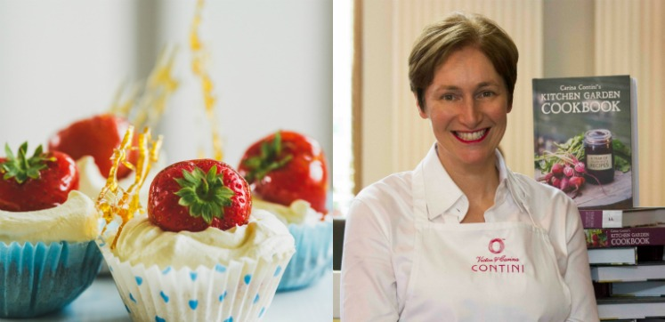 Afternoon Tea Recipe by Carina Contini: Toffee Strawberry Tarts