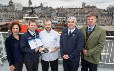 Northern Isles ferry operator scoops gold award for championing Scottish produce